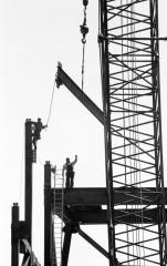 Iron Workers, Rock and Roll Hall of Fame, Cleveland, May, 1994