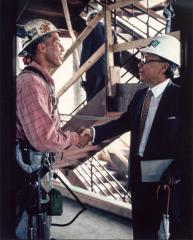 Iron Worker and I.M. Pei, Top The Rock, July 28, 1994